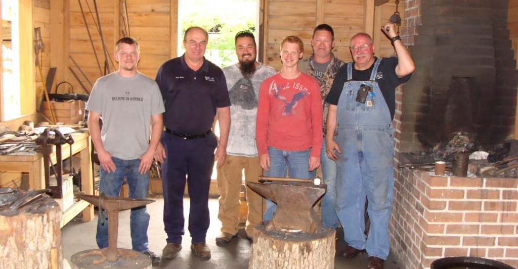 Machine Tool Technology students and instructor Gary Meier visit to the Historic Arkansas Museum in Little Rock, Spring 2016.