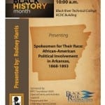 Spokesmen for Their Race: African-American Political Involvement in Arkansas, 1868-1893