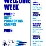 Welcome Week Activities