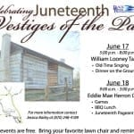 Celebrating Juneteenth Vestiges of the Past