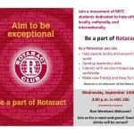 Rotaract Club Meeting