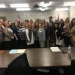 BRTC Nursing Students Witness Hearing at Arkansas State Board of Nursing