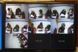 Video-secure testing