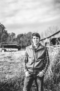 2018 09 03 -- Johnson Ag Scholarship-Garret Akins
