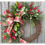 Make & Take Holiday Wreath Design Class