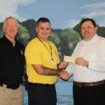 American Veterans Post 62 Donates to LETA
