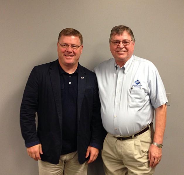 Congressman Rick Crawford Visits BRTC