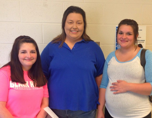 Mother and Two Daughters Students at BRTC Paragould