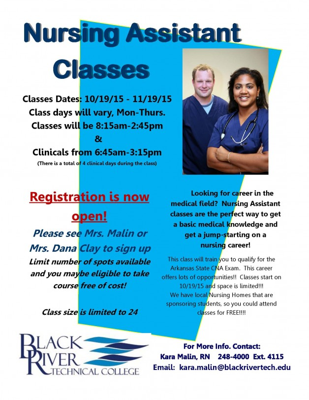 CNA Fall Classes