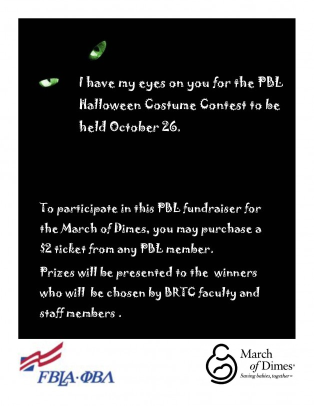 PBL Halloween Costume Contest