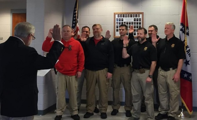 BRTC Law Enforcement Training Academy Faculty Sworn In