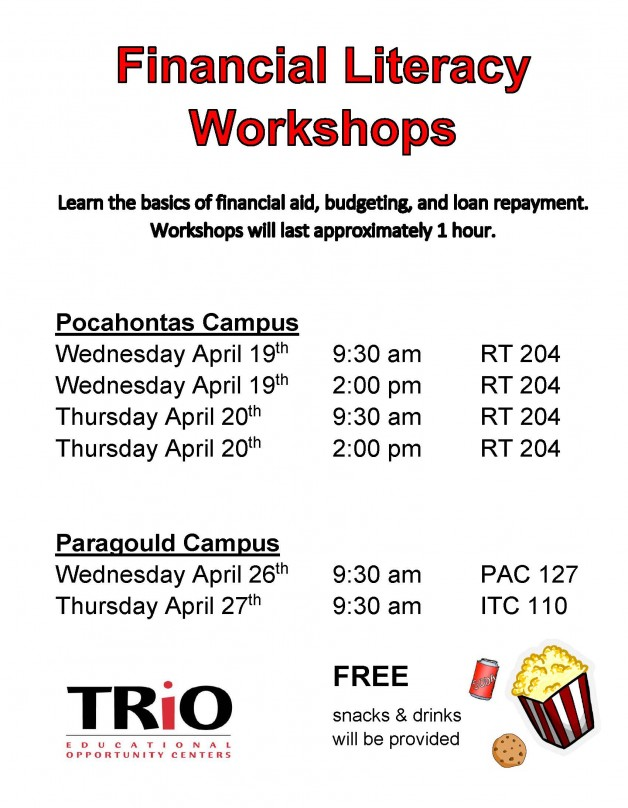 TRIO Financial Literacy Workshop