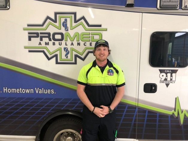 BRTC awards ProMed Ambulance, Inc., Paramedic Scholarship for Summer 2019