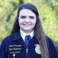 Fall 2019 AgHeritage Farm Credit Services Scholarship Recipient Announced