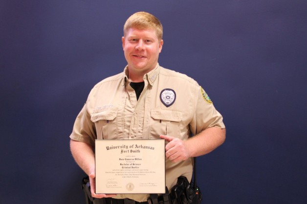 BRTC's Officer Dillion Earns Bachelor's Degree