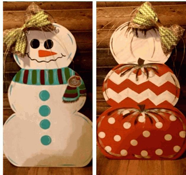 Make &Take 2-in-1 Holiday Door Hanger Workshop – Extended Deadline!