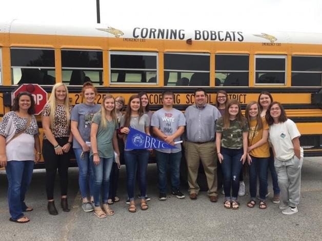 Corning High School Concurrent Students Visited BRTC Pocahontas