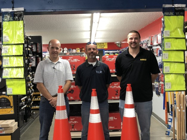 Darragh Company and Tool Central Donate to BRTC's Commercial Driver's License (CDL) Program