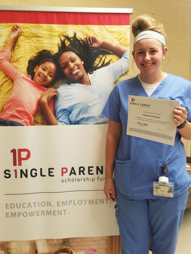 Arkansas Single Parent Scholarship Fund, Randolph County, Awards Scholarship to Brianna Emmons