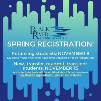 Spring 2020 Registration for New, Transfer, Readmit, and Transient Students Begins 11/15