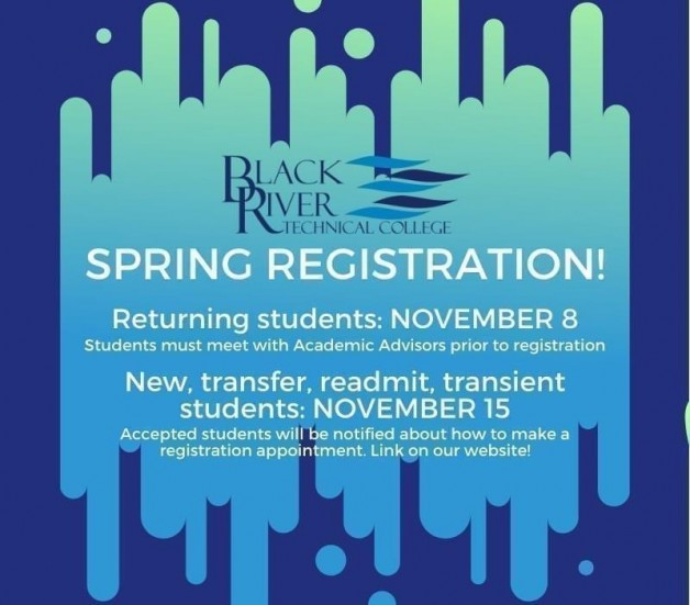 Spring 2020 Registration for Returning Students Begins 11/8