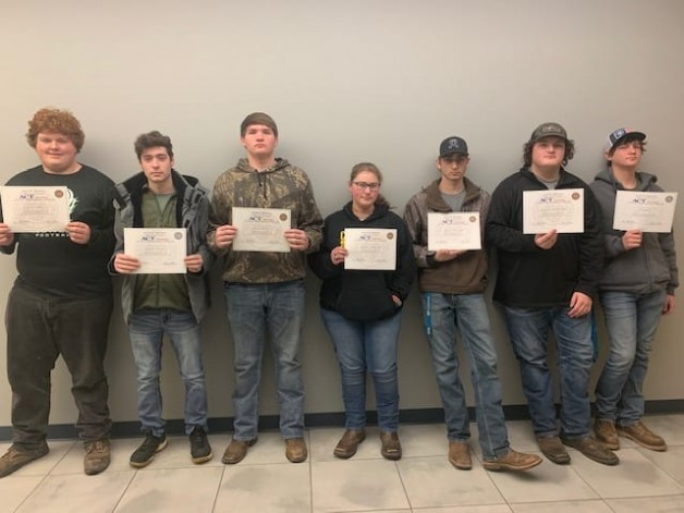 High School Students in BRTC's TOPSS Program Earn National Career Readiness Certificate