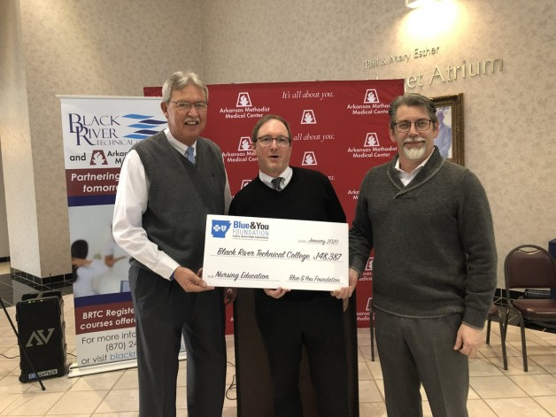 BRTC Receives Over $140,000 Blue and You Grant for RN Program at AMMC in Paragould