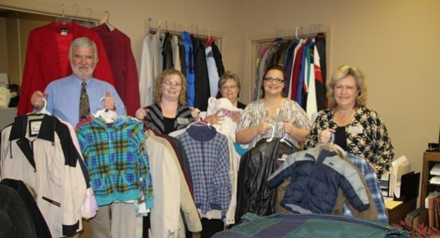 Pathways Gathers Coats for Donation to Salvation Army