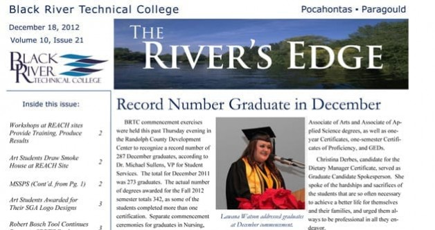 The River's Edge – Volume 10, Issue 21
