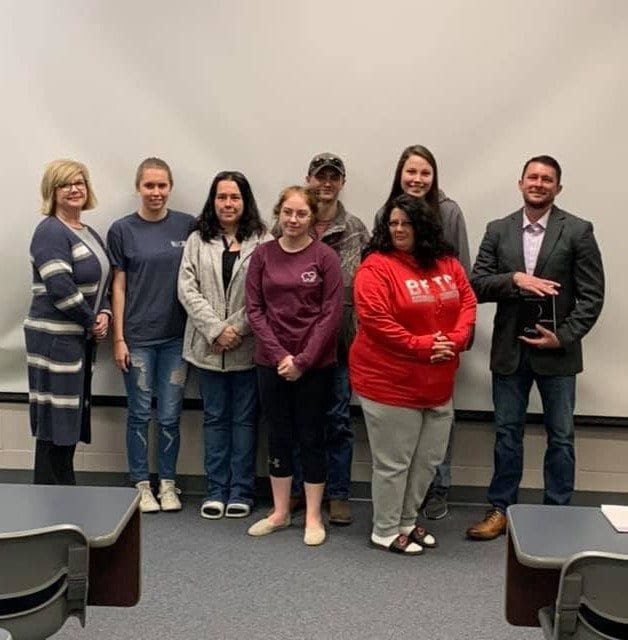 Author Visits with BRTC Criminal Investigation Students