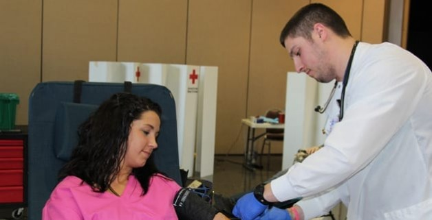 Turnout is Good for PTK Blood Drive