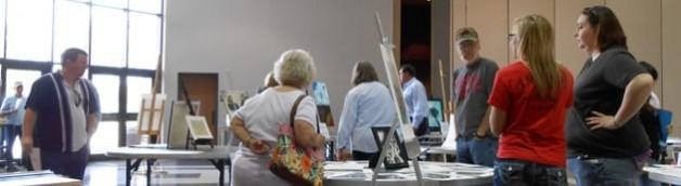 BRTC Art Showcase Raises Over $1500 for the Art Club