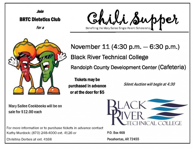Chili Supper Fundraiser