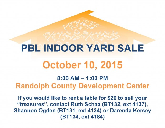 PBL Indoor Yard Sale