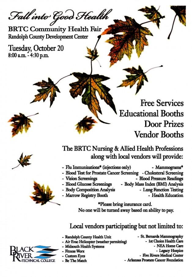 Fall Flu Clinic and Community Health Fair
