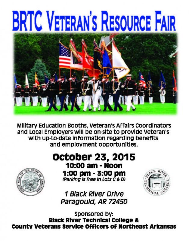 BRTC Paragould to Host Veteran's Resource Fair