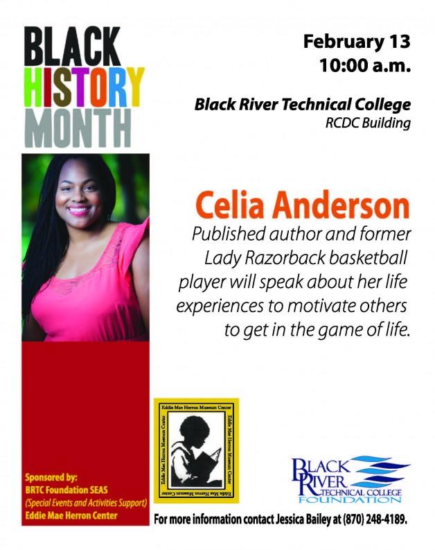 Black History Month-Celia Anderson