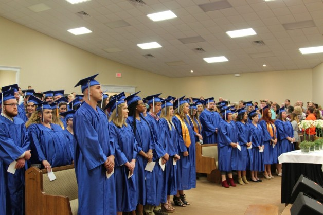 BRTC Holds Commencement Exercises at Alternate Location