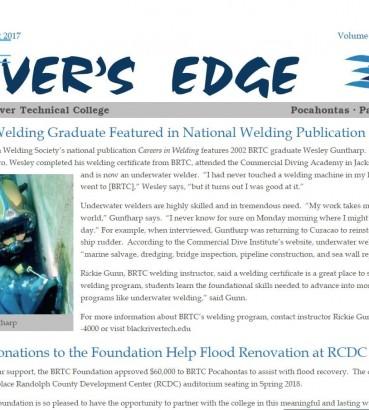 The River's Edge-Volume 15, Issue 4 | Black River Technical
