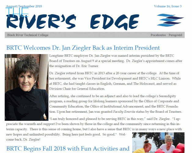 THE RIVER'S EDGE, VOLUME 16, ISSUE 3
