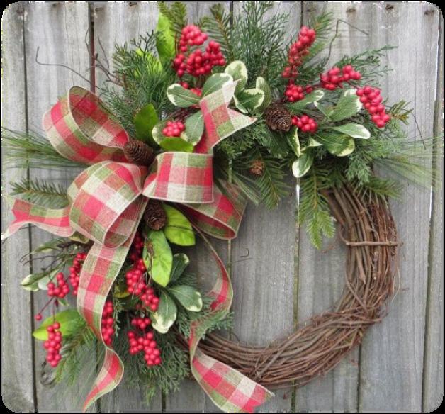 Make & Take Holiday Wreath Design Class