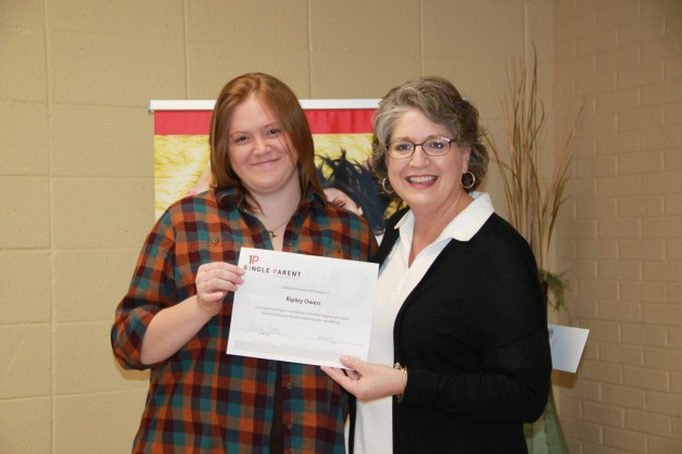 Ripley Owen Receives Spring 2019 Mary Sallee Single Parent Scholarship
