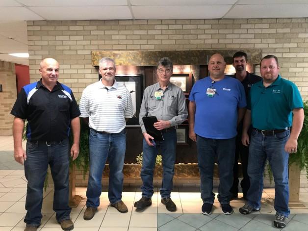 Baxter Healthcare Maintenance Supervisors Visit BRTC Technical Programs in Pocahontas