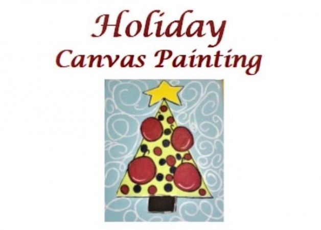Holiday Canvas Painting Workshop