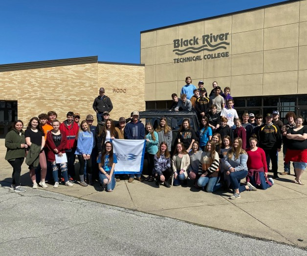 250 Tenth-Grade Students Visit BRTC for Tour