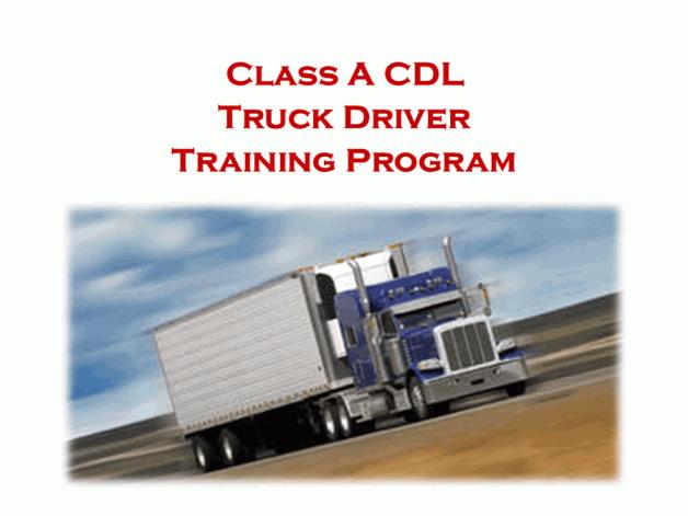 Next CDL Truck Driver Training Class: July 1, 2020
