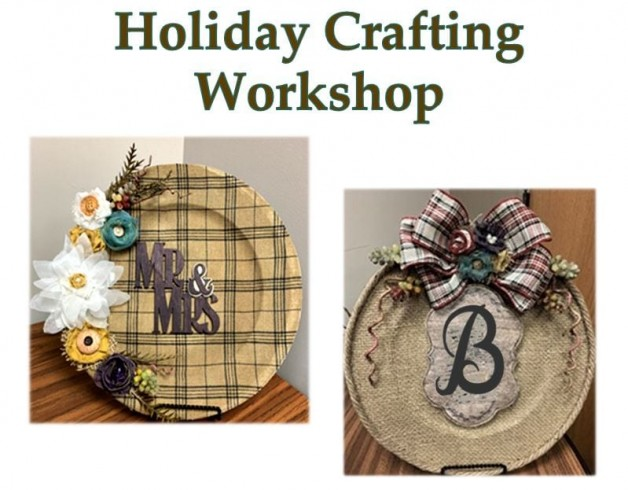 Holiday Crafting Workshop