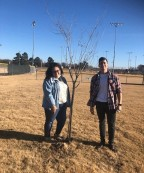 Black River Technical College's Student Ambassadors Plant Trees at Local Park