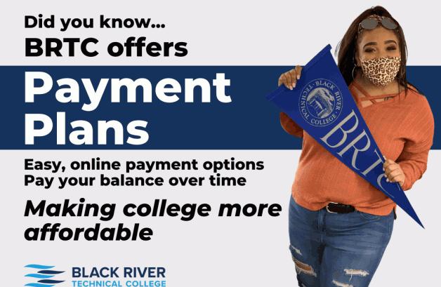 BRTC Offers Payment Plans