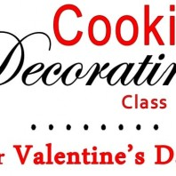 Cookie Decorating for Valentine's Day